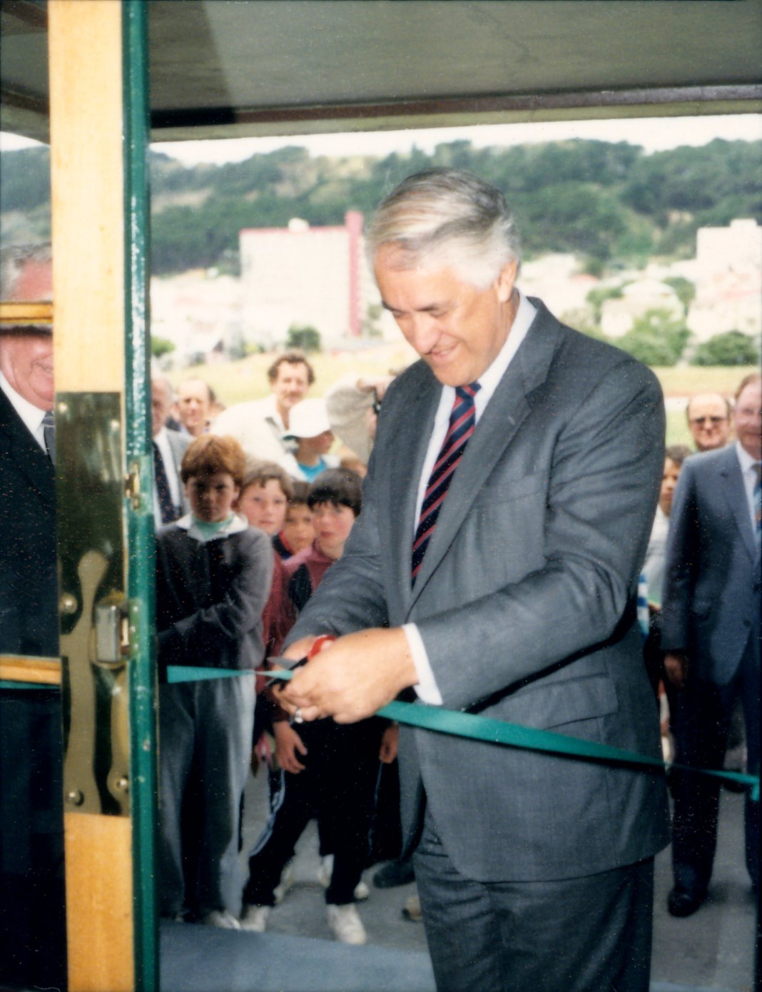 NZ Cricket Museum opening, 1987
