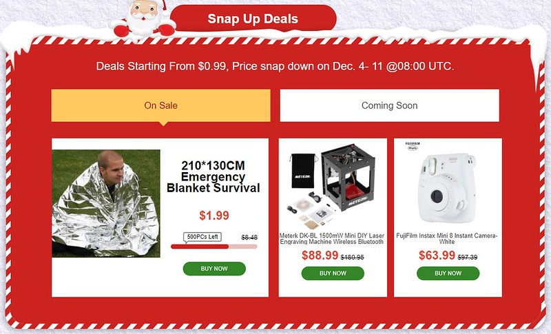 TOMTOP sale クリスマス (3)