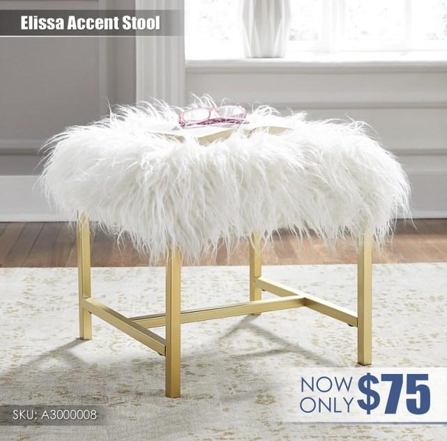 A3000008 - Elissa Stool $75