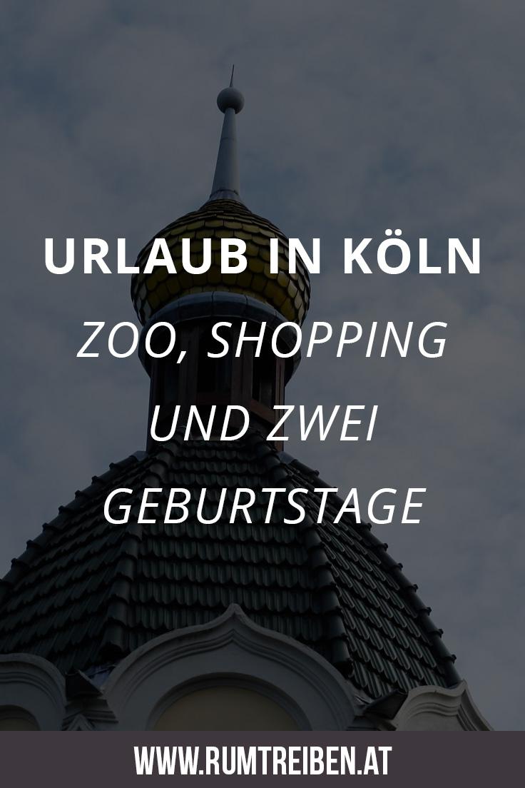 Urlaub in Köln Pin