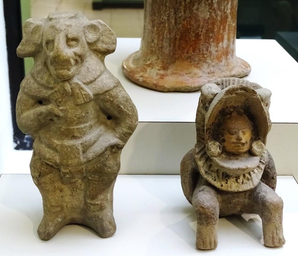 Museo Popol Vuh Figuritas Periodo Clasico Ciudad de Guatemala 23