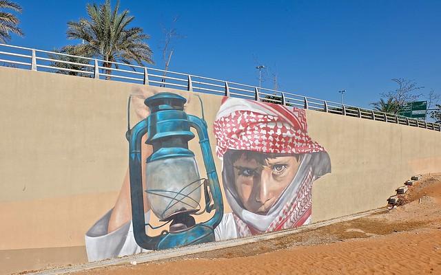 murals at al raha beach abu dhabi photos by docgelo