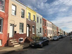 Rowhouses, 2900 block Miles Avenue (northeast side), Baltimore, MD 21211