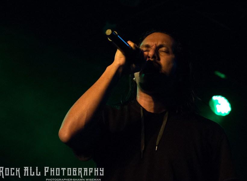Pop Evil performing at Oddbody's in Dayton, OH 11/17/17