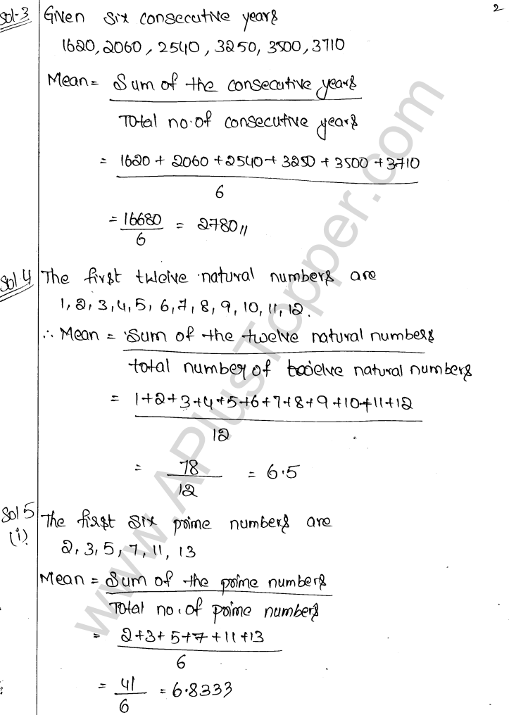 ML Aggarwal ICSE Solutions for Class 9 Maths Chapter 19 Statistics