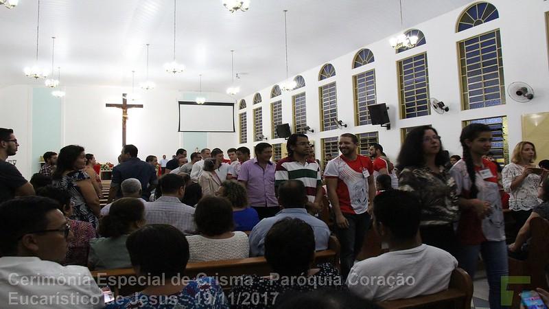 Cerimônia Especial de Crisma - Paróquia Coração Eucarístico de Jesus - parte 03