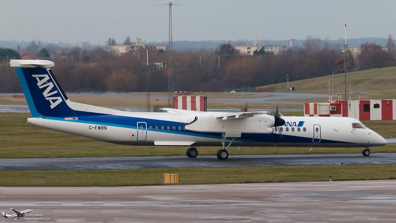 C-FWBN DH8D ANA