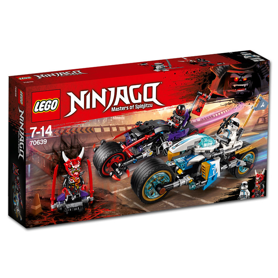 70639 - Street Race of Snake Jaguar - box art