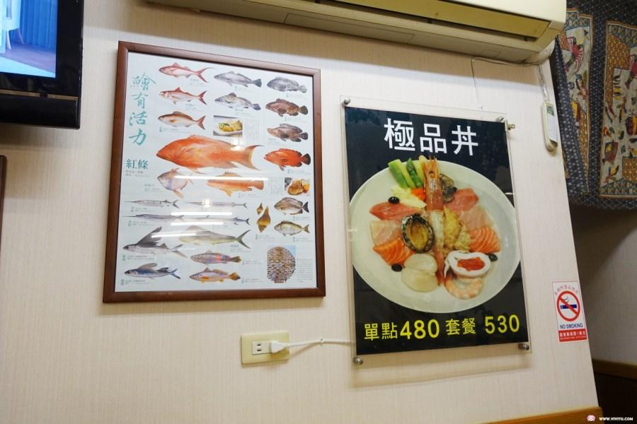 三禾田和風小館,台北美食,平價日式料理,晴光市場,生魚片,食材新鮮 @VIVIYU小世界