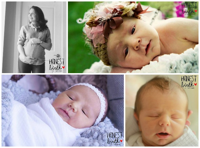 Mama Lauren Elizabeth of Hello Whimzy shares the hospital birth stories of her three kids on the Honest Birth birth story series!