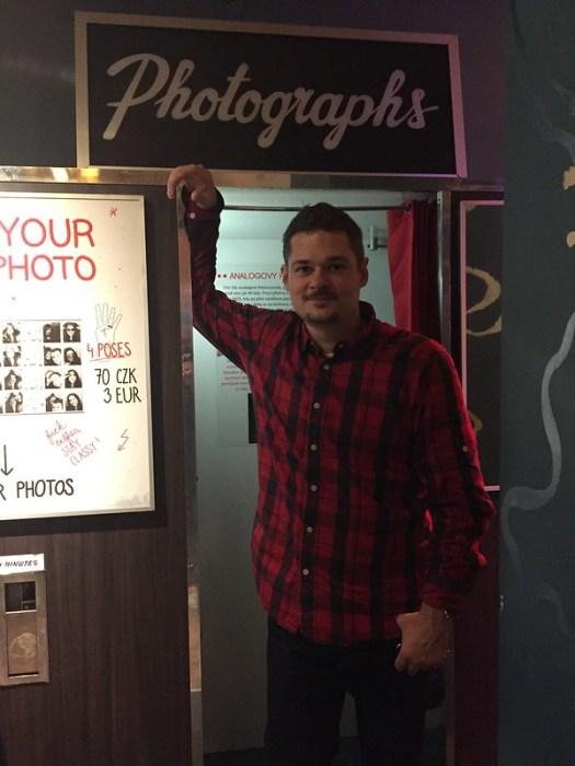 Rock Cafe Photobooth, Prague
