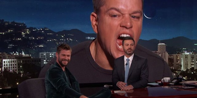 Jimmy Kimmel Thor Matt Damon