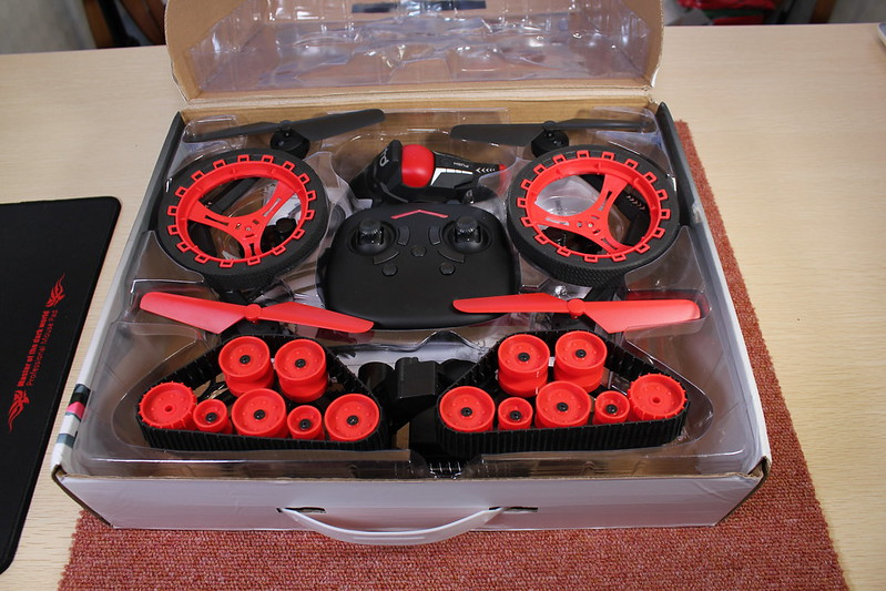 HHD H3 3 in 1 RC Quadcopter 開封編 (9)