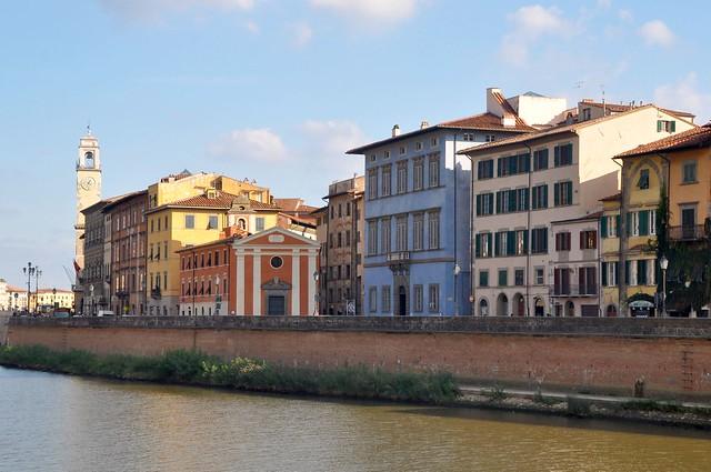 Pisa, Palazzo Blu