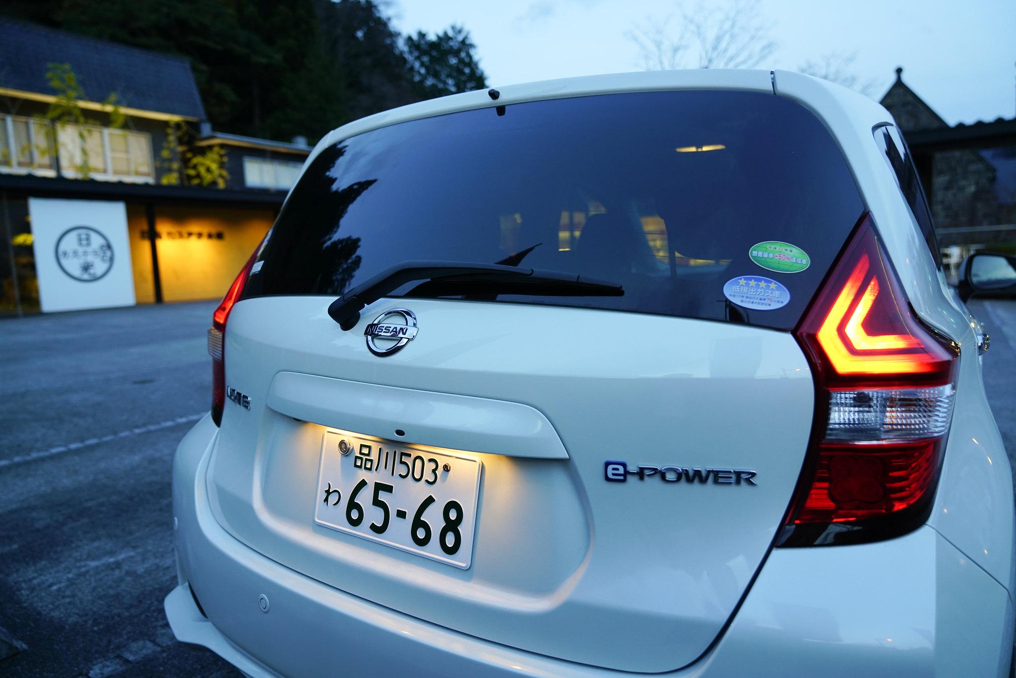 日本限定 加汽油的電動車 Nissan Note e-Power - Nissan - 汽車討論區 - Mobile01