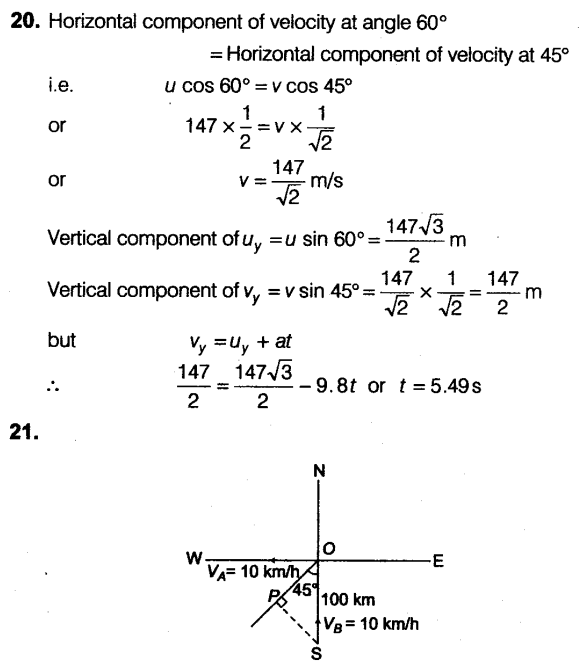 NEET Physics Chapter Wise Mock Test - Scalar and Vector