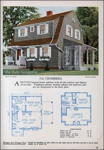 C.L. Bowes House Plans