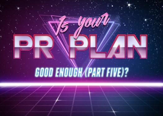 PR plan