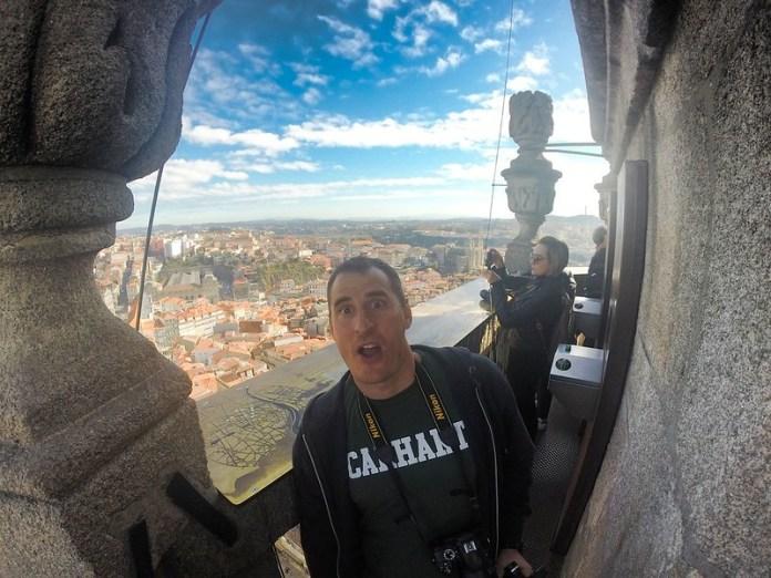vistas desde la torre los clérigos