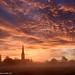 Sunrise over Salisbury