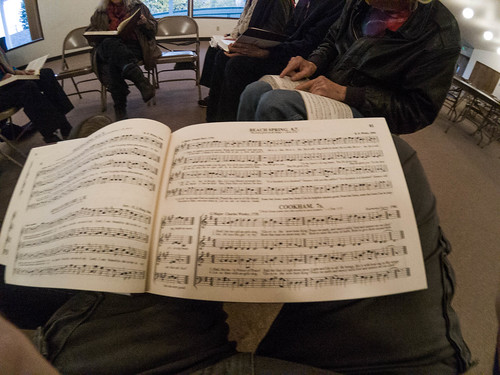 Sacred Harp Singing in Langley-3