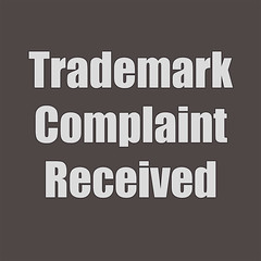 Trademark Complaint Received
