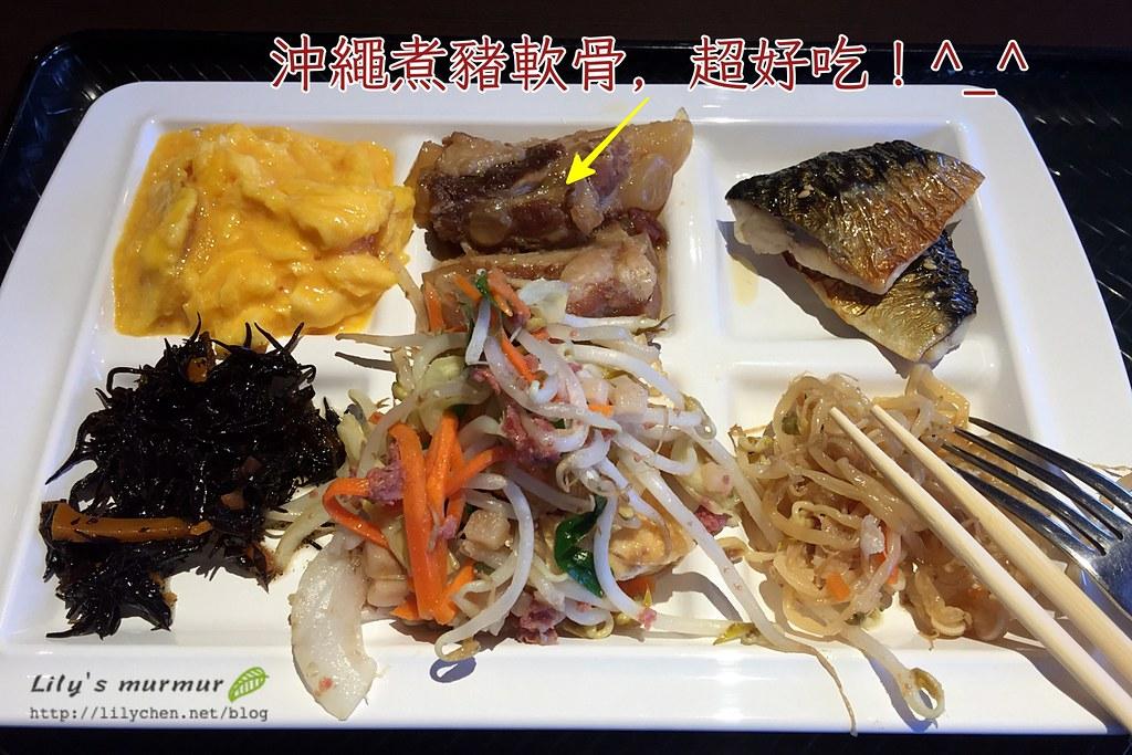 我拿的第一份餐點,真的很對我的胃口!好吃~
