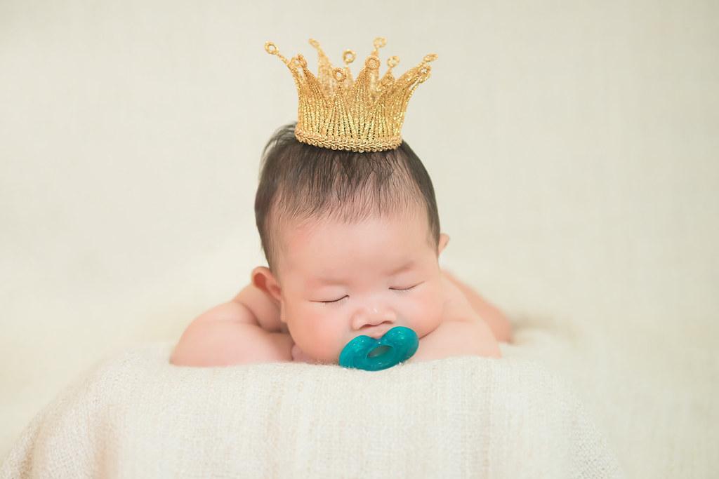 《親子日誌》小詩琦映像館:新生兒寫真拍攝心得分享