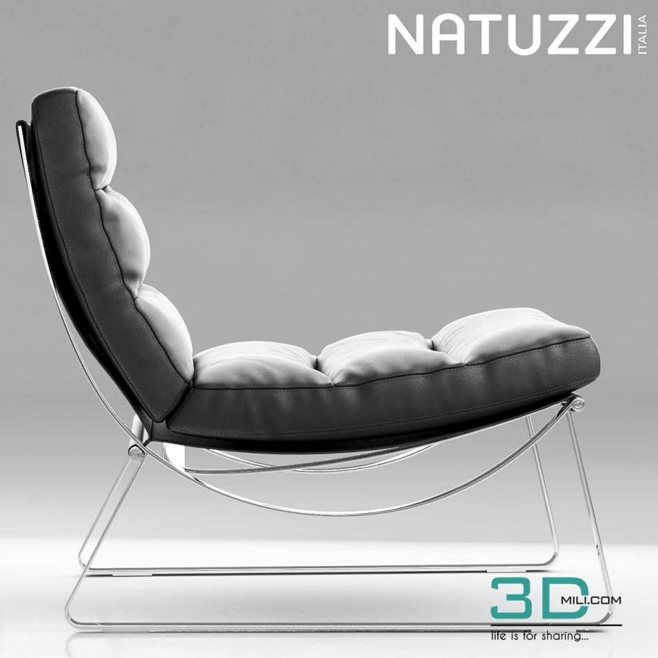 48 3d natuzzi cammeo chair models 3d mili download 3d. Black Bedroom Furniture Sets. Home Design Ideas