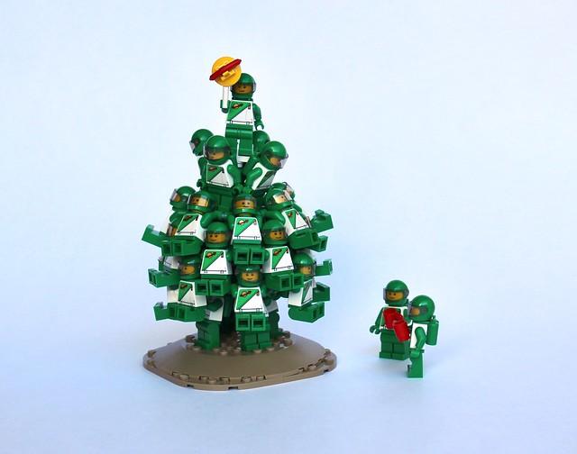 Sapin de Noel LEGO Space