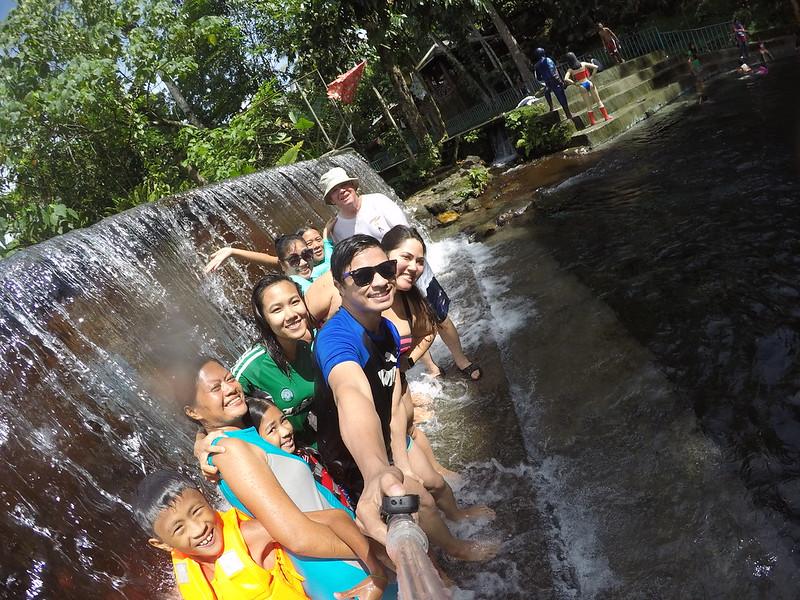 Waterfalls at Eriberta Spring Resort