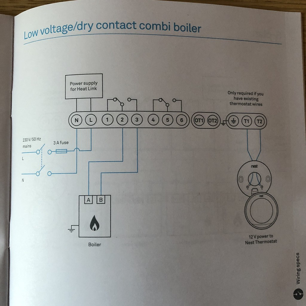 Wiring A Thermostat To A Baxi Boiler