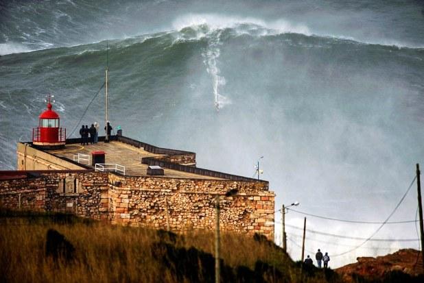 La ola de Nazaré