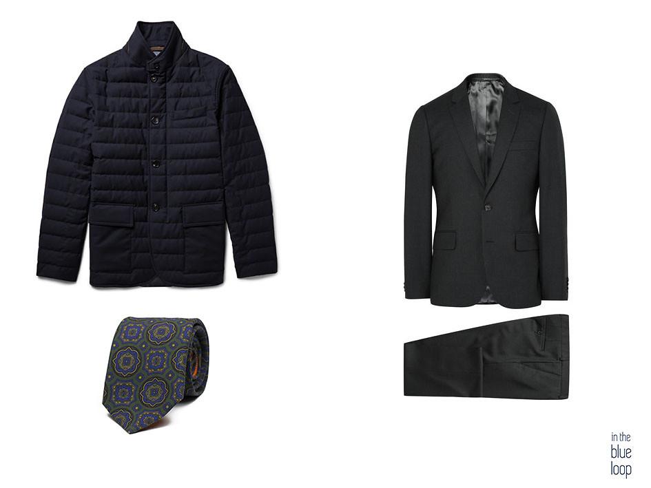 Traje masculino negro con plumas y corbata para look formal masculino 4 maneras de llevar una chaqueta de plumas