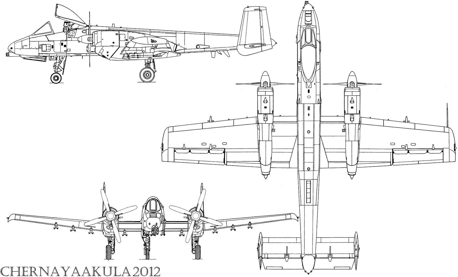 Fairchild Republic A 10 Thunderbolt Ii Warthog Hog