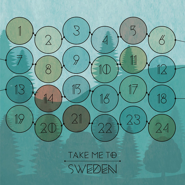 Take me to Sweden - Jul calendar - Advent calendar contest