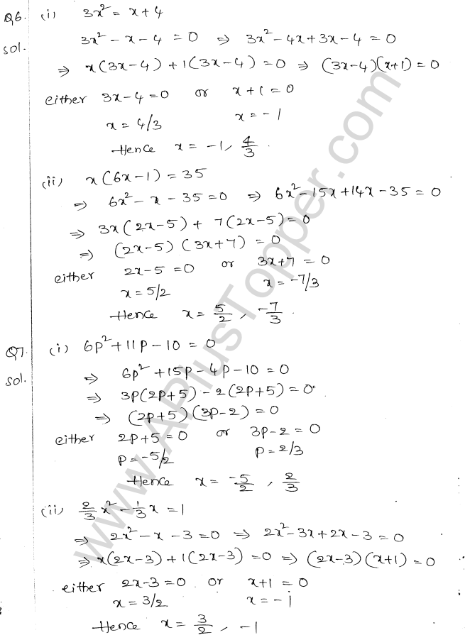 ml-aggarwal-icse-solutions-for-class-10-maths-chapter-5-quadratic-equations-in-one-variable-4