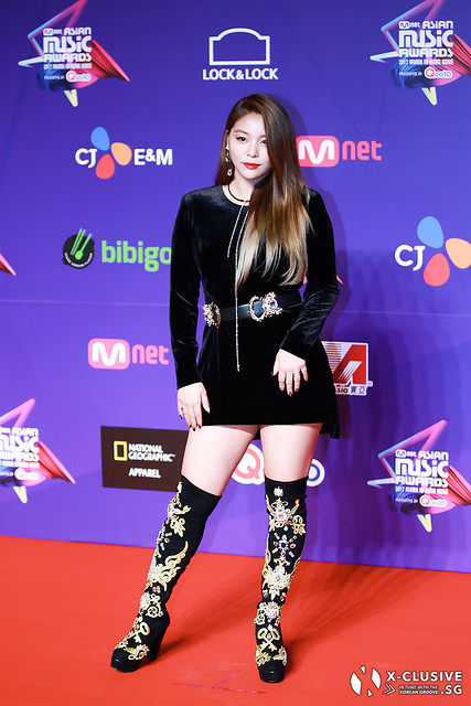Ailee at 2017 MAMA in Hong Kong
