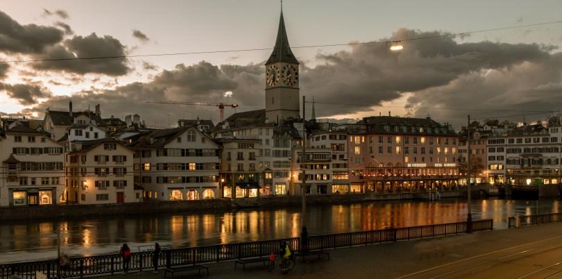 Zürichs Night Lights