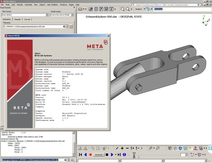 Working with BETA CAE Meta Post 18.0.1 full crack