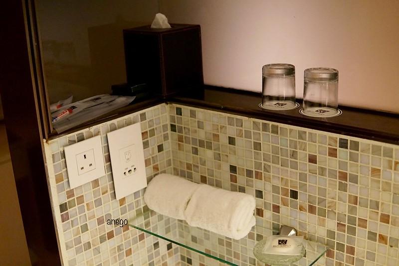 バタフライ ウォーターフロント バスルーム アメニティ