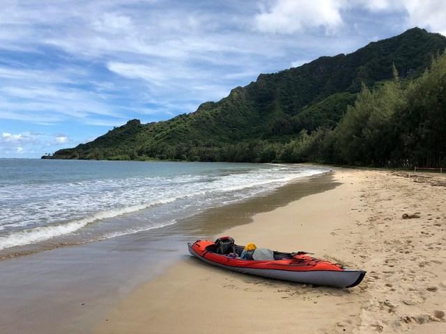 Picture from Kahana Bay, Oahu