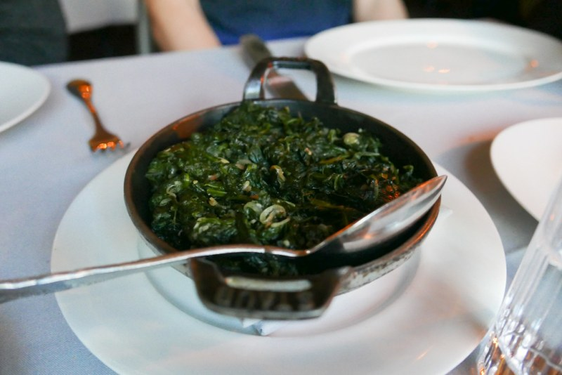 [Special request] Sauteed Spinach instead of Creamed ($10)