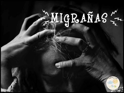 Tener migrañas