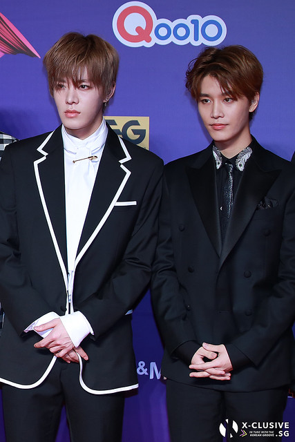NCT 127 at 2017 MAMA in Hong Kong