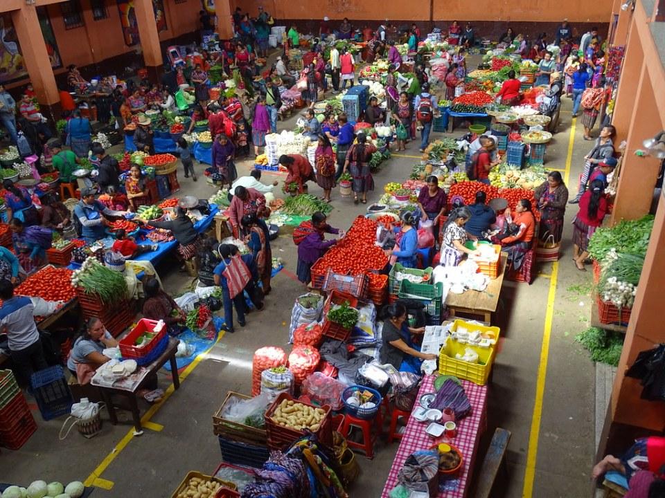 Chichicastenango Mercado Central Guatemala 02