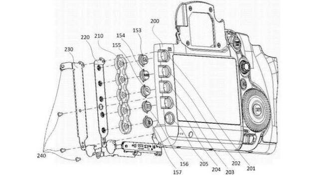 Le Canon EOS 7D Mark III pourrait avoir des boutons