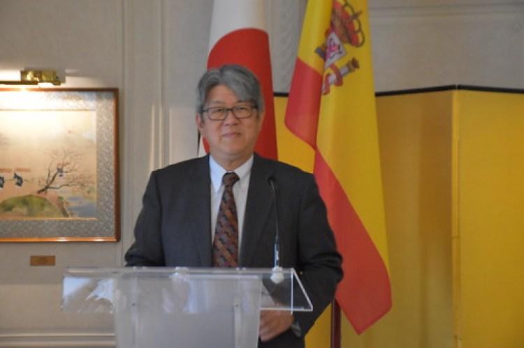 El excelentísimo embajador de Japón Masashi Mizukami
