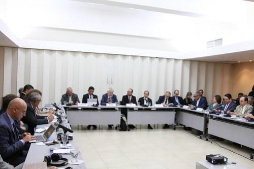 Ministerios de Justicia y Seguridad de los países del SICA e Italia desarrollan mesa política sobre crimen organizado