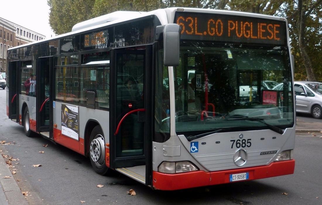 Meios de rransporte em Roma